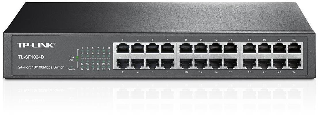 TP-Link TL-SF1024D 24-Port 10/100Mbps Switch