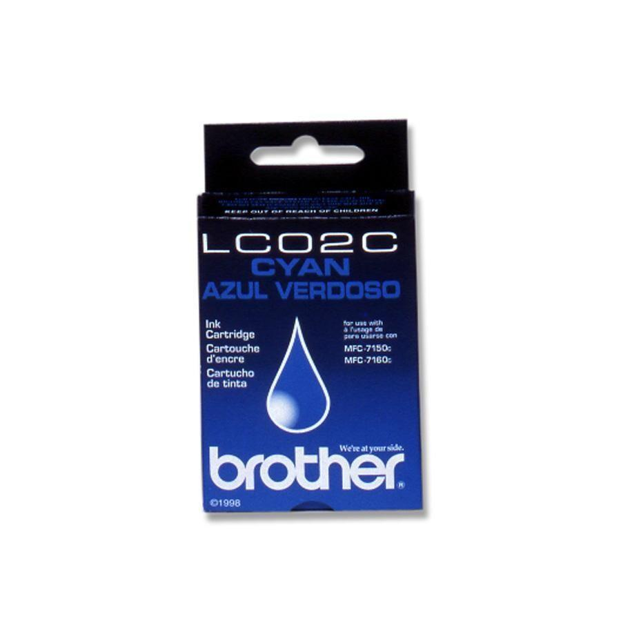 Brother Brother Lc02C 400Pgs Cyan Ink