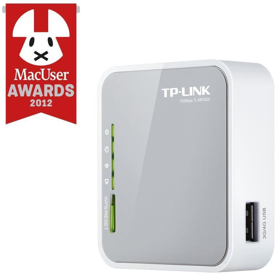 TP-Link TL-MR3020 150Mbps Portable 3G/4G Wireless N Router