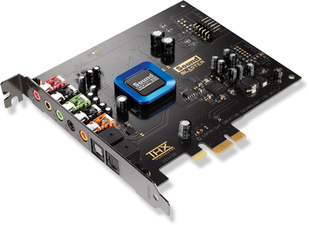 Creative Sound Blaster Recon3D Pci-Express X1 Sound Card With Sound Core 3D Quad-Core Sound And Voice Processing