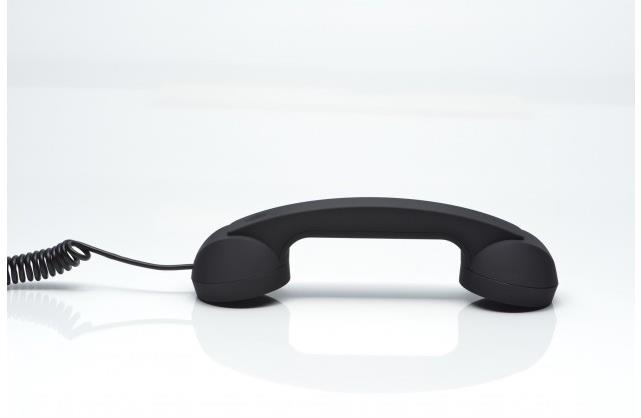 Native Union Pop Phone Retro Handset (Black)