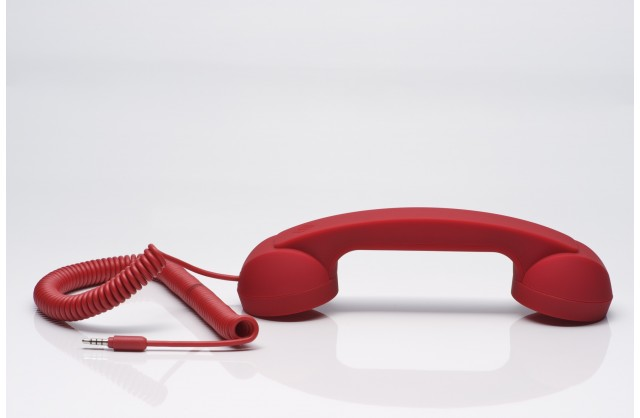 Native Union Pop Phone Retro Handset (Red)