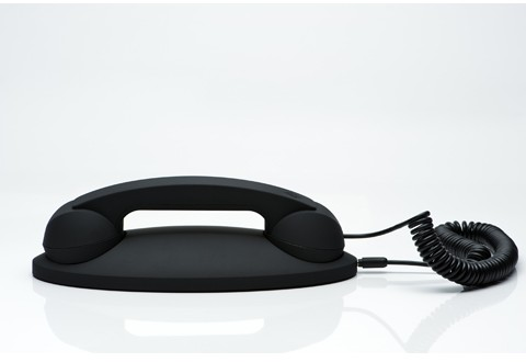 Native Union Moshi Moshi 01 Black Retro Handset with Base