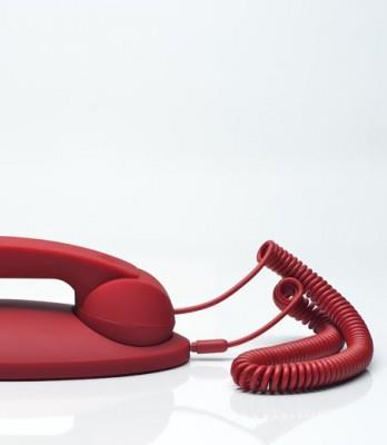 Native Union Red Moshi 01 Retro Handset with Base MM01-RED-ST