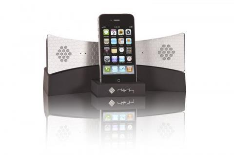 Native Union Moshi Moshi 04i Handset Speaker System (Black/Silver)