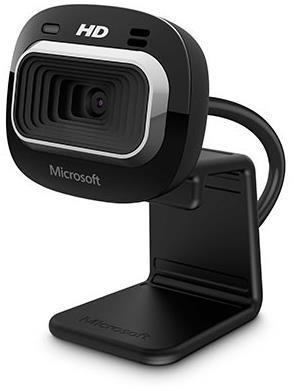 Microsoft LifeCam HD-3000 Webcam - Black - USB 2.0 - OEM