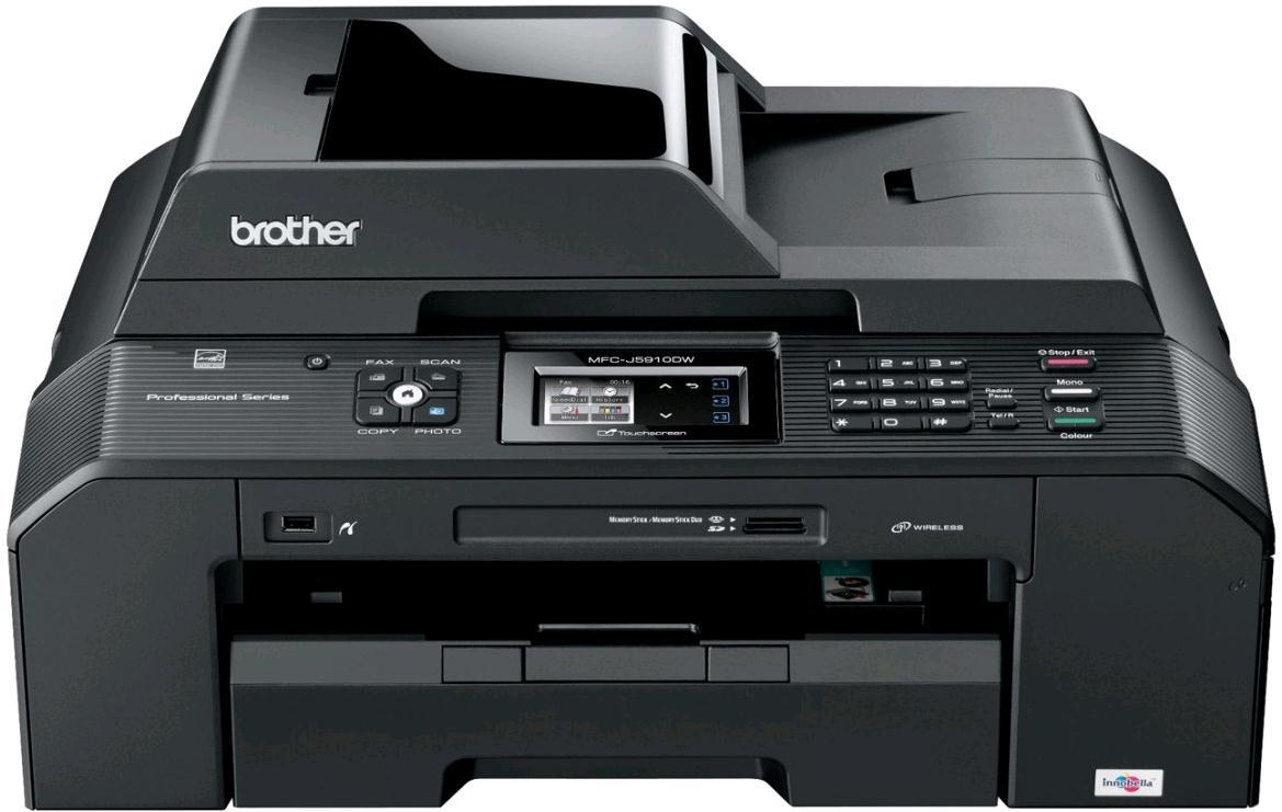 Brother MFC-J5910DW Professional A3 Colour Inkjet Multifunction Printer Scanner Copier