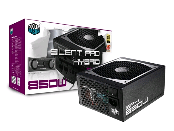 Coolermaster Silent Pro Hybrid High End Gaming 850W Modular Power Supply