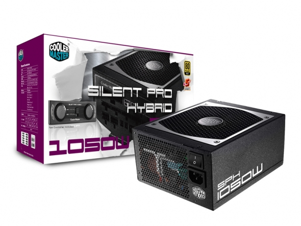 Coolermaster Silent Pro Hybrid High End Gaming 1050W Modular Power Supply PSU