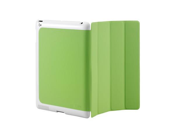 Cooler Master CM Mobile Wake Up iPad 2 Or The New iPad (2012 Model) Smart Cover + Back Case (Green)