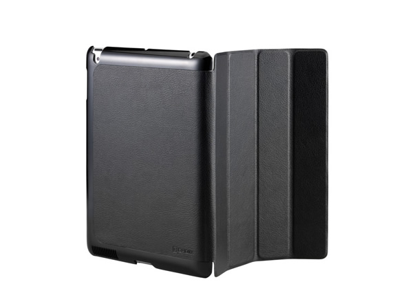 Cooler Master CM Mobile Wake Up iPad 2 Or The New iPad (2012 Model) Smart Cover + Back Case (Black)