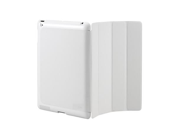 Cooler Master CM Mobile Wake Up iPad 2 Or The New iPad (2012 Model) Smart Cover + Back Case (White)