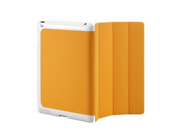 Cooler Master CM Mobile Wake Up iPad 2 Or The New iPad (2012 Model) Smart Cover + Back Case (Orange)