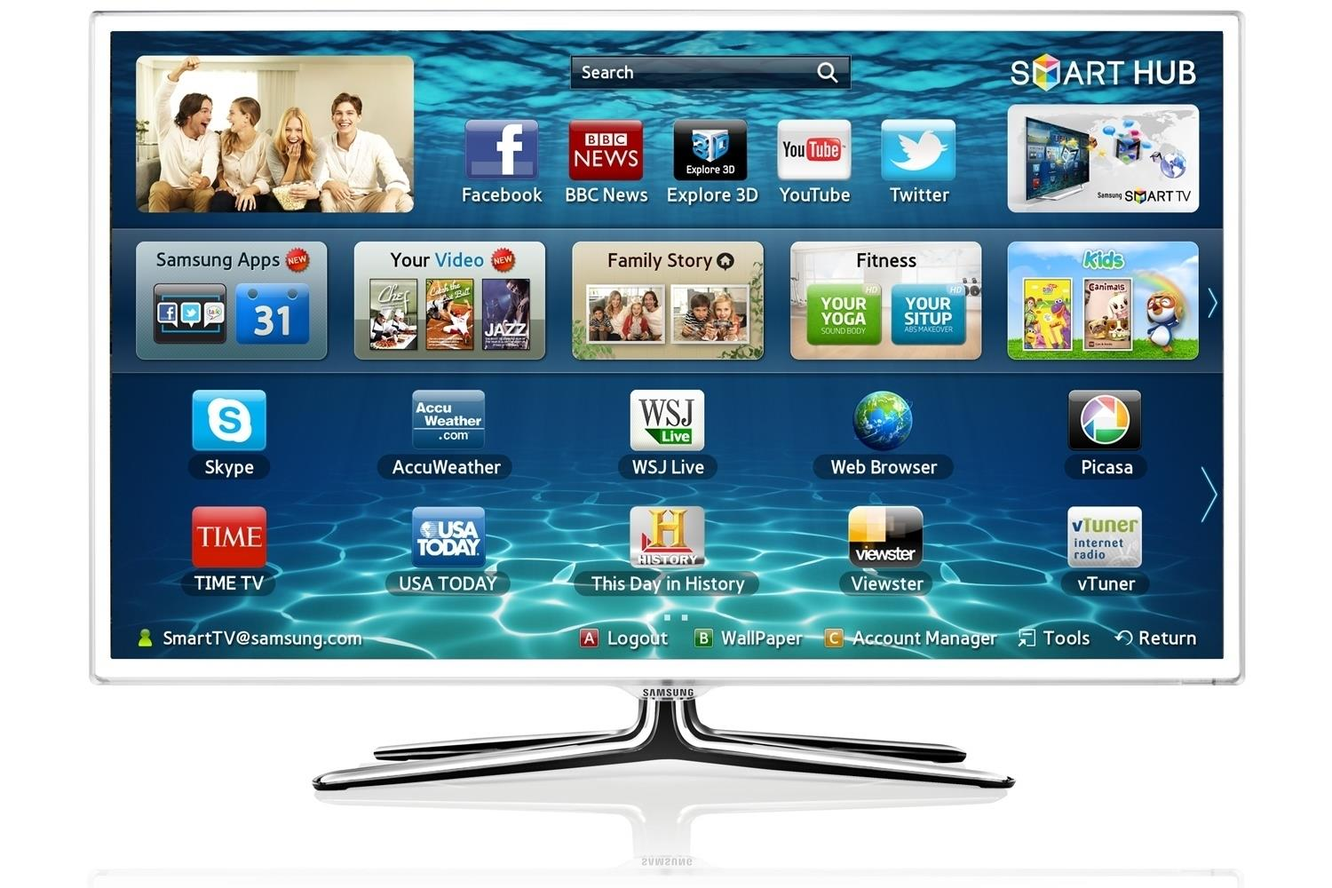 Samsung UE46ES6710U 46 Inch 3D Smart LED TV