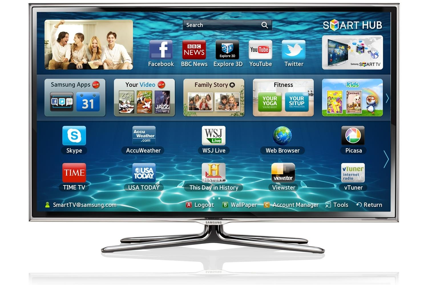 Samsung UE55ES6800U 55 Inch 3D Smart LED TV