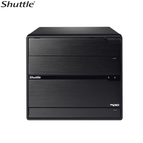 Shuttle SZ68R5 Barebone Cube Z68 Chipset S1155 Black Mini PC