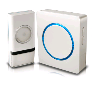 Swann Wireless Door Chime With Compact Backlit Design (white)