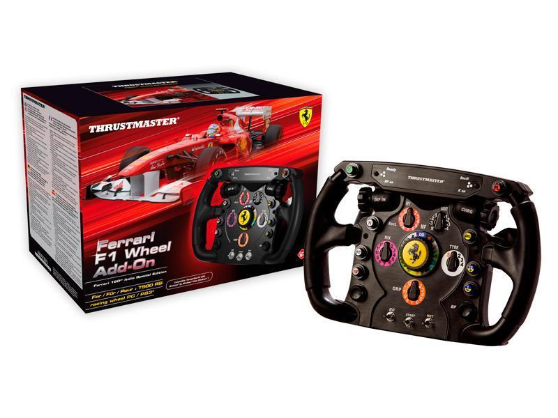 Thrustmaster Ferrari F1 Add On Wheel for T500 RS Base