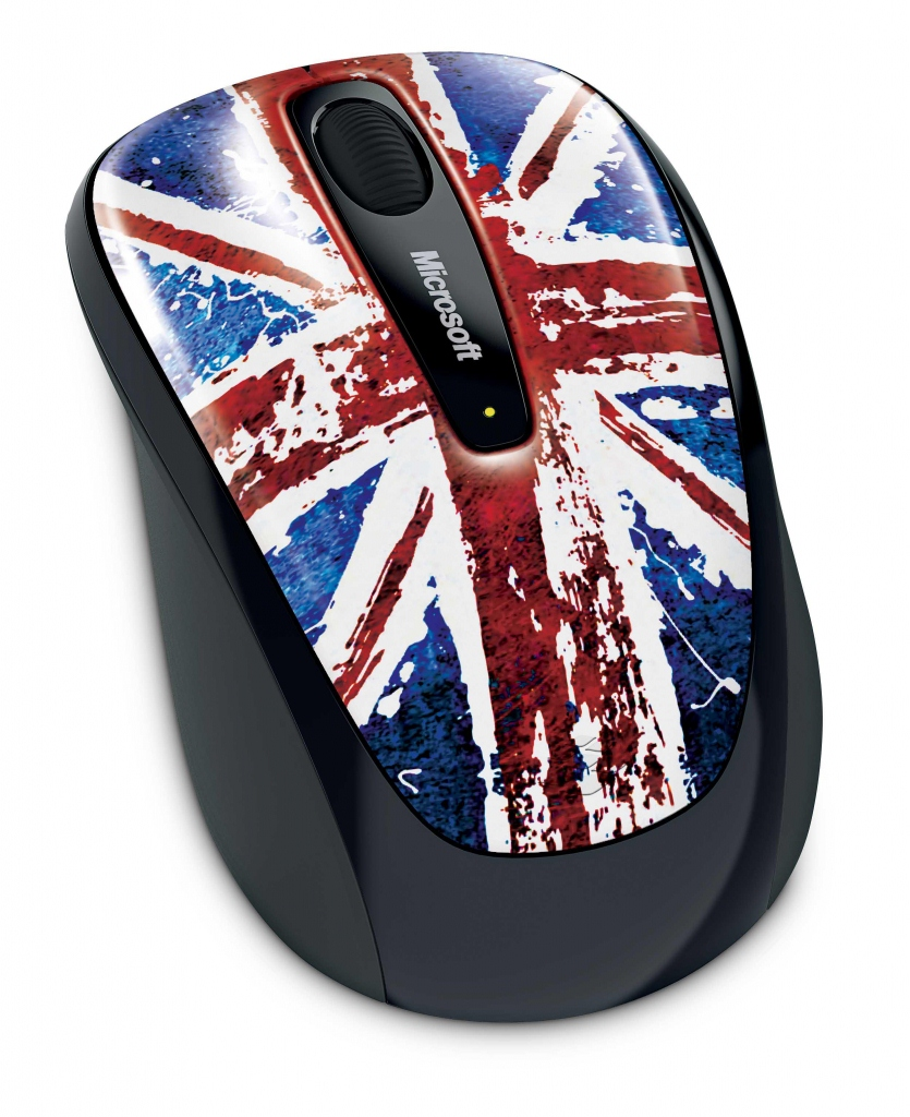 Microsoft Great British Mouse with BlueTrack Technology