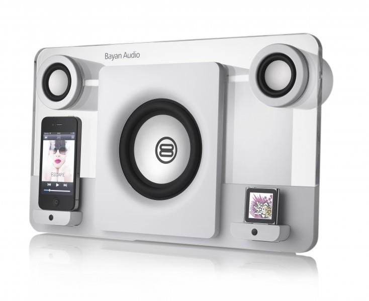 Bayan Audio Bayan 5 Speaker Dock (White) for iPod and iPhone