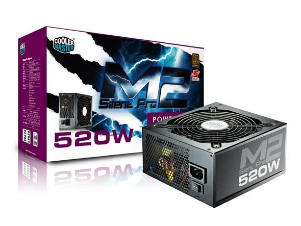 Coolermaster Silent Pro M2 520W PSU Power Supply