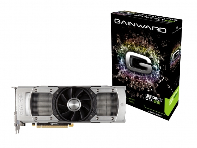 Gainward GeForce GTX 690 4096MB PCI-Express GDDR5 Graphics Card [426018336-2661]
