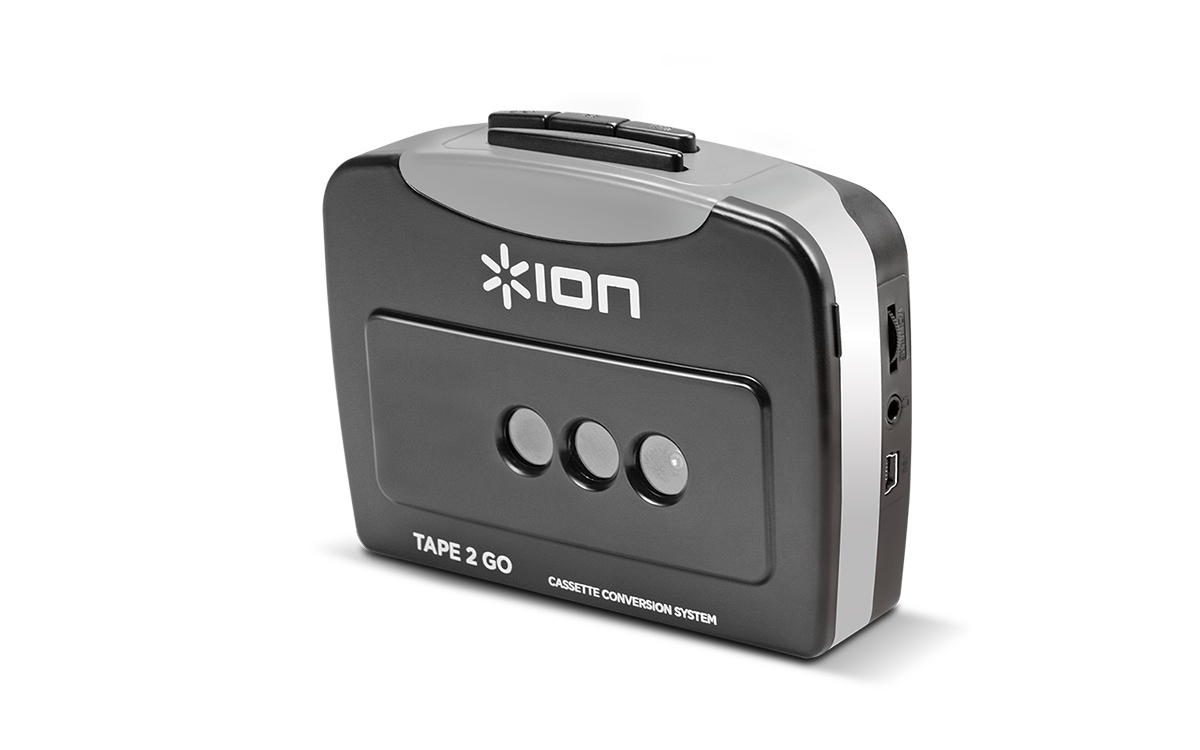 ION TAPE 2 GO Portable Tape-to-MP3 Converter