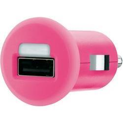 Belkin Auto Adapter for iPad iPhone iPod USB Device in Pink