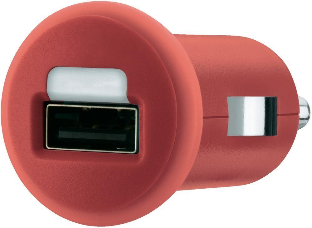 Belkin Auto Adapter for iPad iPhone iPod USB Device in Red