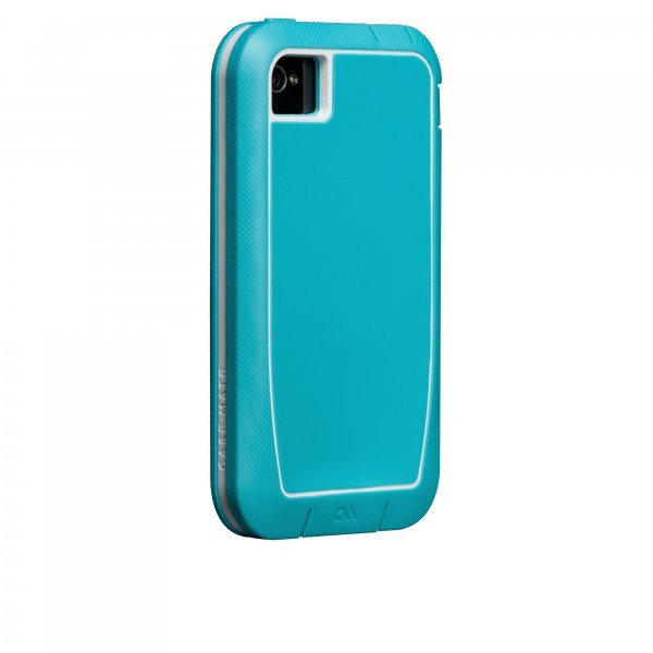 Case-mate Phantom Cases for Apple iPhone 4/4s in Aqua & White
