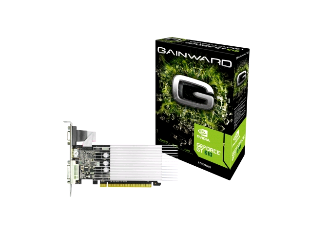Gainward Geforce Gt 610 1Gb Silentfx Graphics Card Pci-E Dvi Hdmi