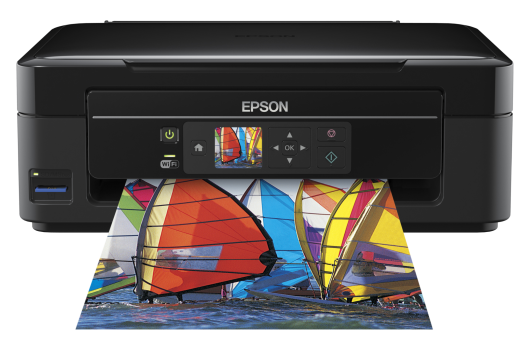 Epson Expression Home Xp-305 Wireless Wifi Small All in One with Screen Printer Scanner Copier