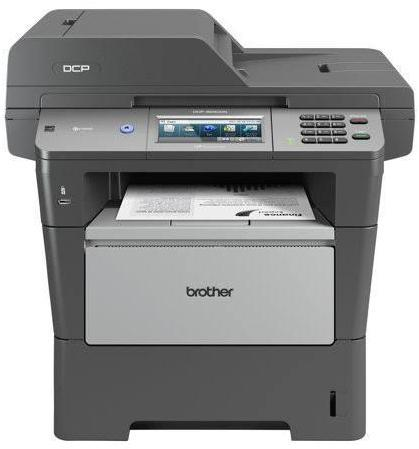 Brother Dcp-8250Dn High Speed Workgroup Mono Multifunction Printer