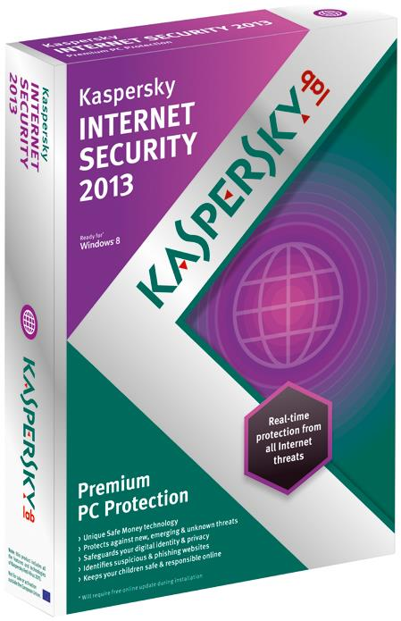 Kaspersky Internet Security 2013 DVD