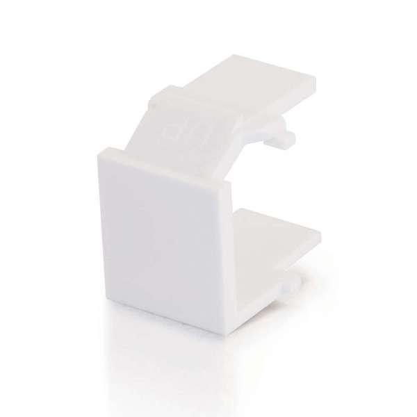 Cables To Go Snap-In Blank Keystone Wht