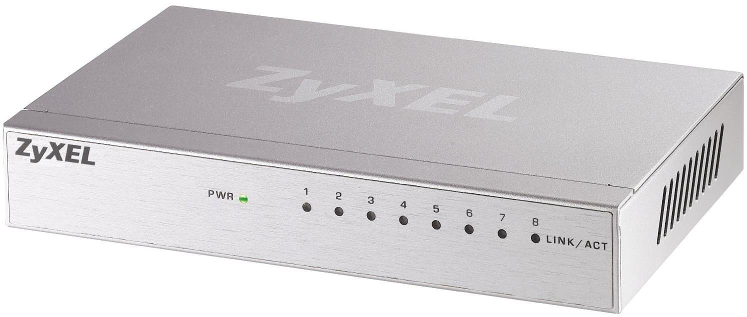 Zyxel GS108B 8-Port Gigabit Unmanaged Ethernet Switch