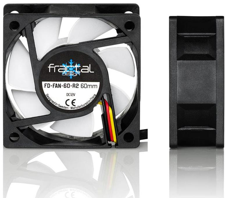 Fractal Design Fractal Design Fd-Fan-Ssr2-60 (60Mm) Silent Series Case Fan