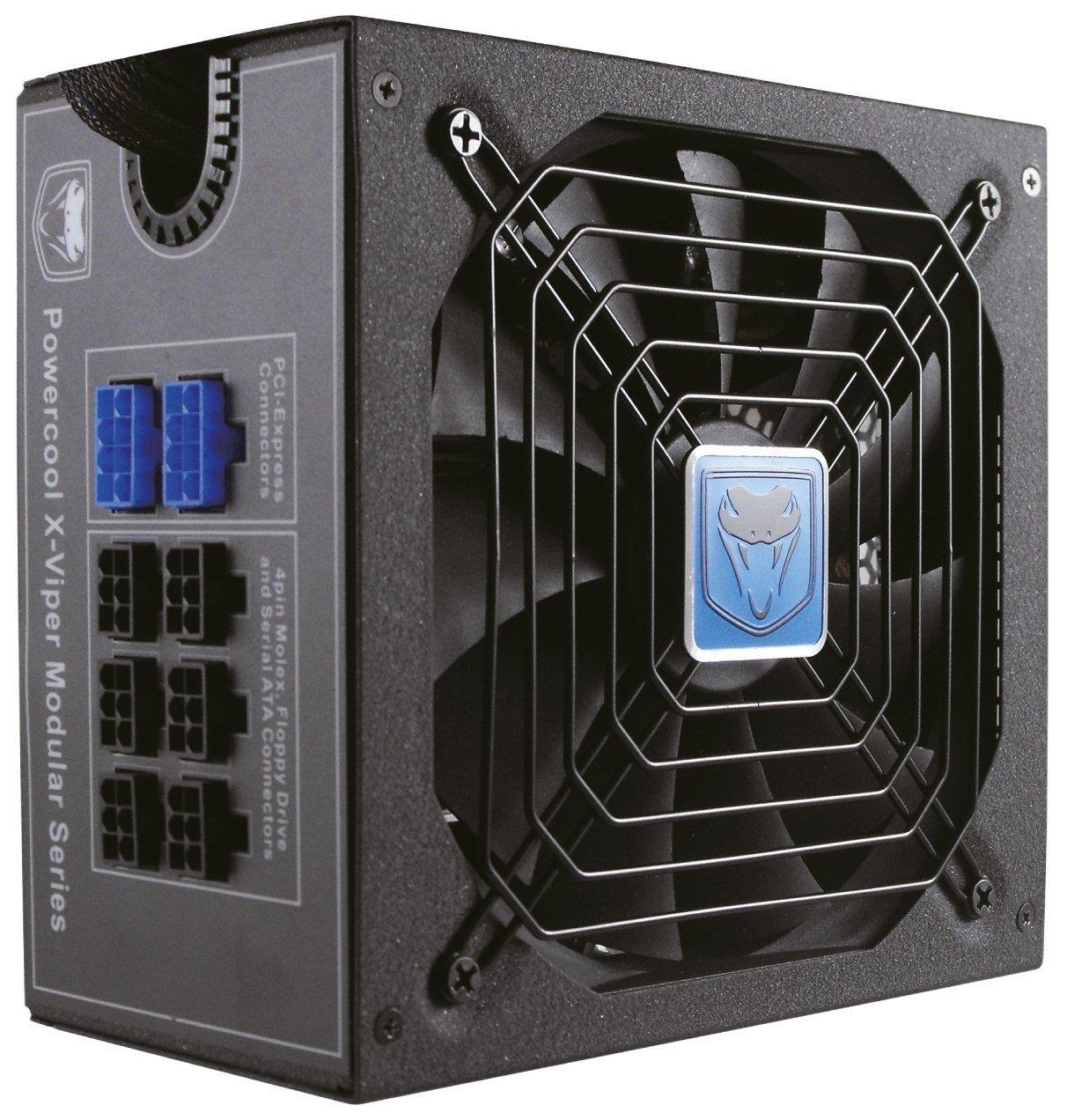 Powercool X-Viper Modular  850W 80+ Bronze Active Pfc 14Cm Fdb Fan Single Rail
