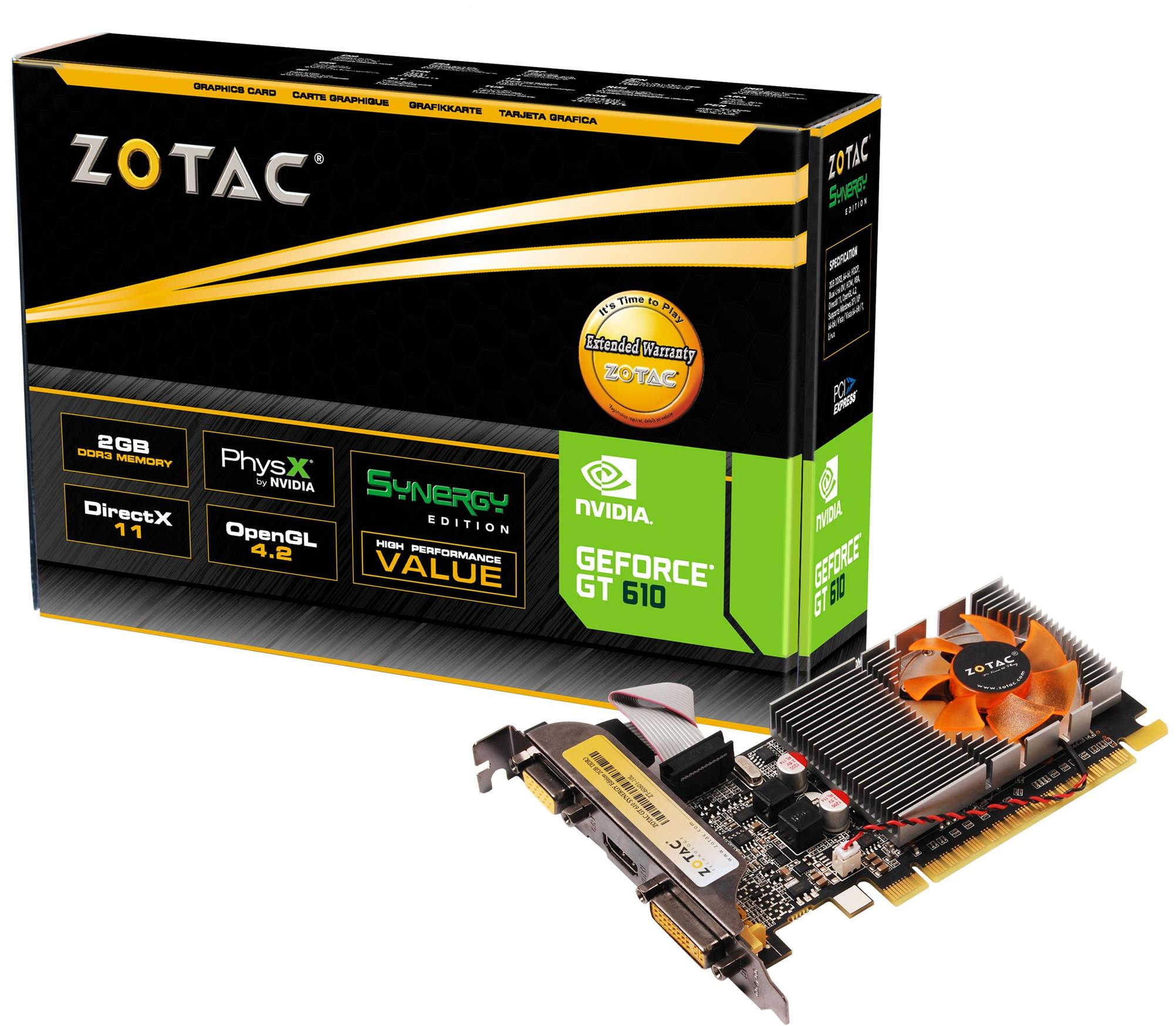 Zotac GeForce GT 610 PCI-Express Graphics Card