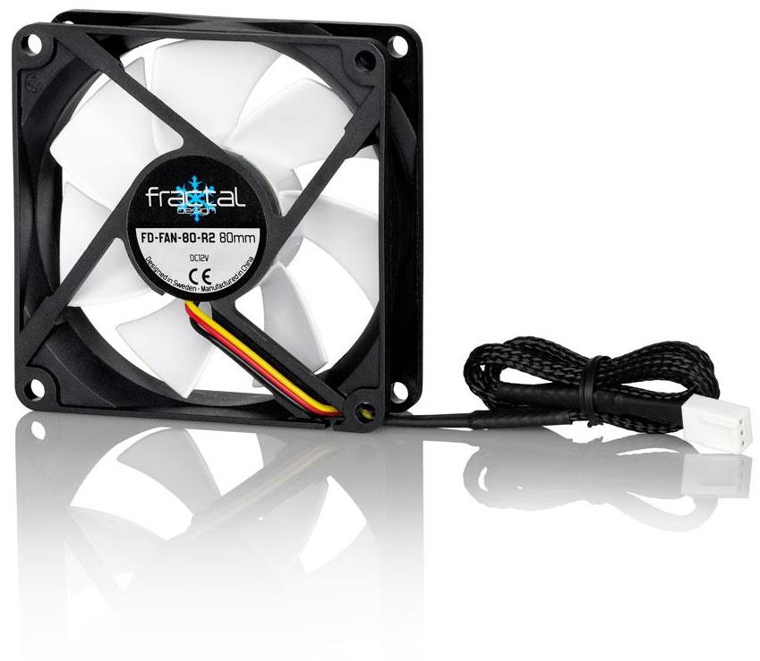 Fractal Design Silent Series R2 80mm 8cm Case Cooling Fan