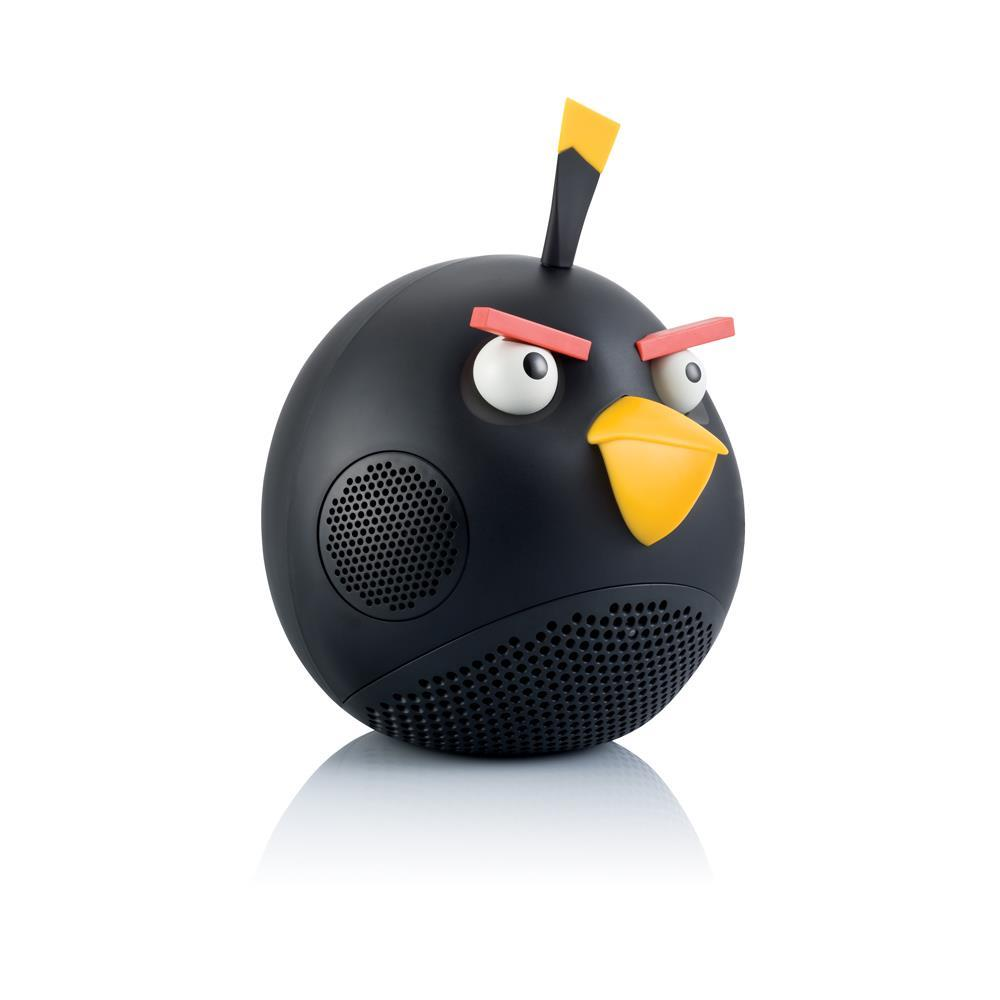 Gear4 Angry Birds Black Bird 2.1 Speaker with dock for iPod / iPhone / iPad