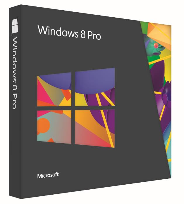 Microsoft Windows 8 Pro 64Bit Operating System