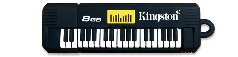 Kingston KE-U568G Keyboard 8Gb USB Flash Pen Drive