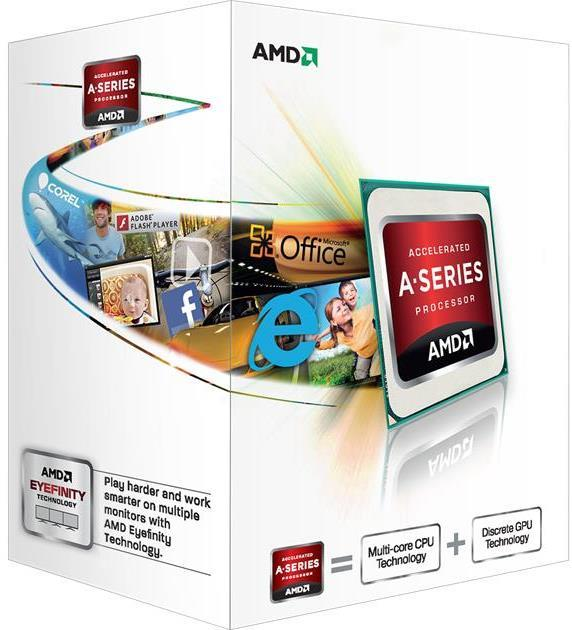 AMD A4 5300 FM2 Dual Core Processor