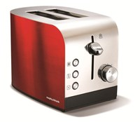 Morphy Richards 44206 Accents 2 slice Toaster Red