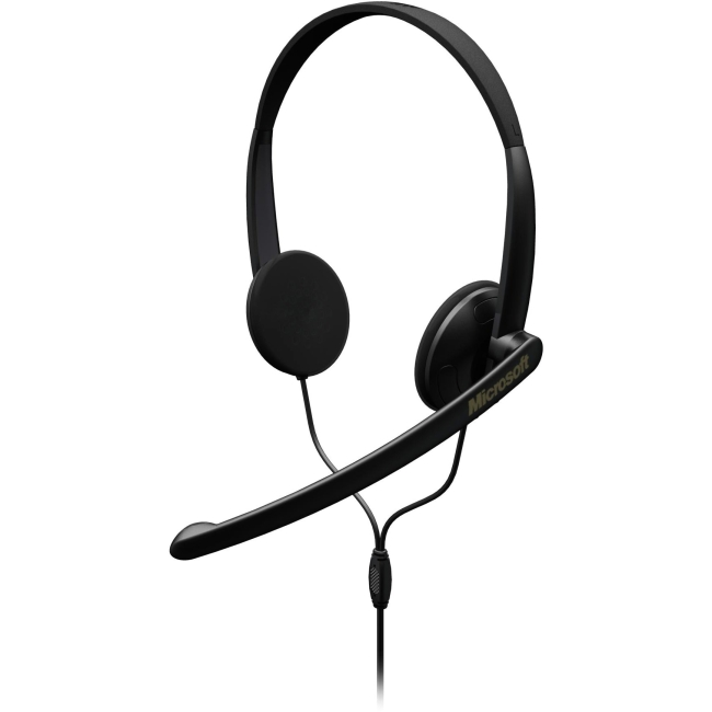Microsoft LifeChat LX-1000 Wired Stereo Headset - Over-the-head - Supra-aural