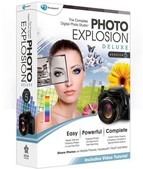 Avanquest Photo Explosion Deluxe 5, Save £5!