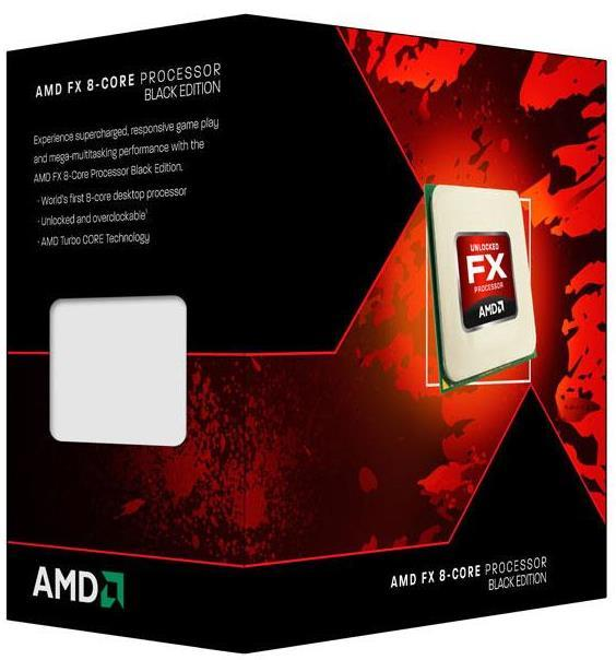 AMD FX8350 Black Edition 8 Core Processor