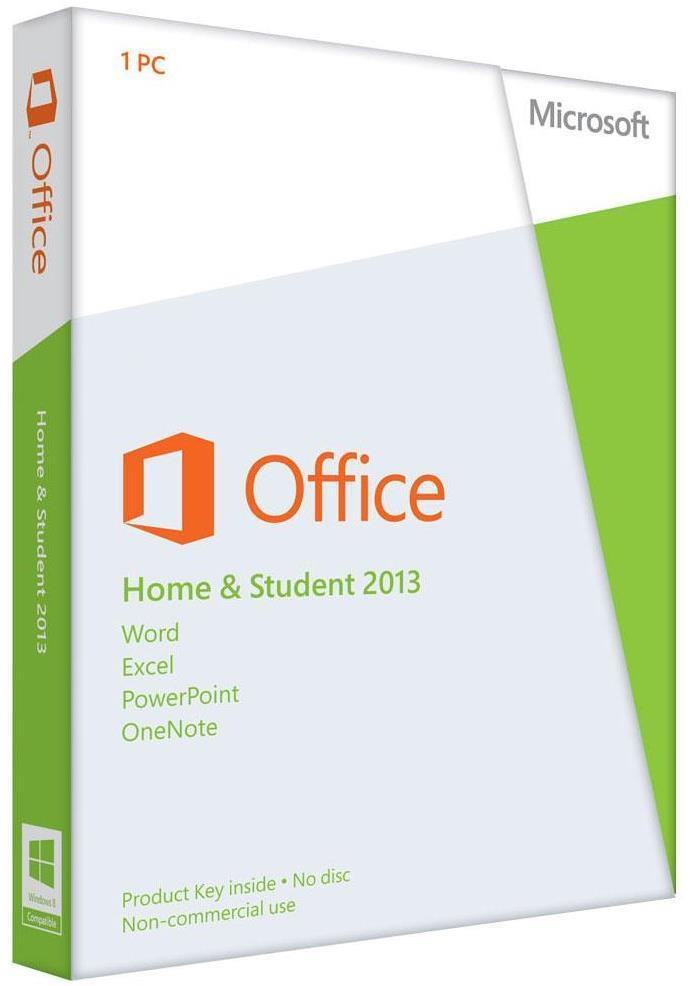 Microsoft Office Home And Student 2013 Software 79G-03549