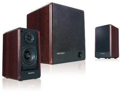 Microlab FineCone FC330 Desktop Speakers and Subwoofer